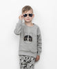 Huxbaby Kids Tops French Shades Fleece Sweatshirt - Ever Simplicity