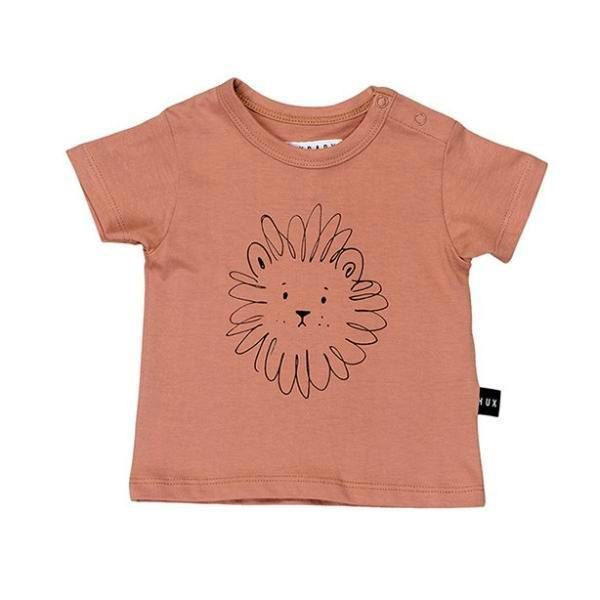 Huxbaby Kids Tops Lion Box T-shirt - Ever Simplicity