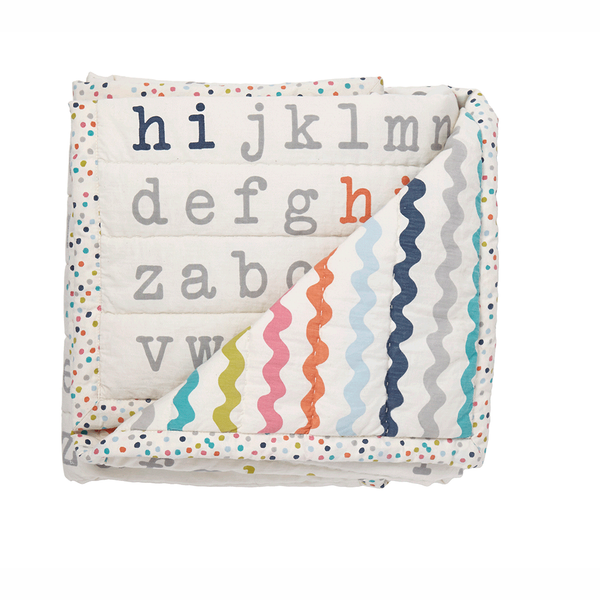 Petit Pehr Kids accessories Alphabet Blanket - Ever Simplicity
