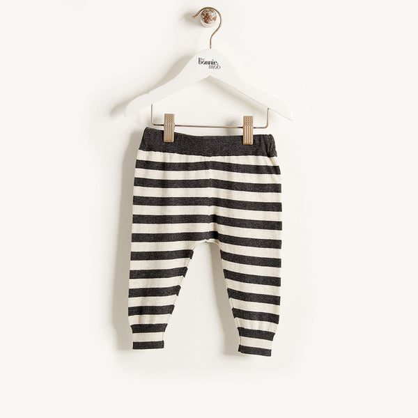 The Bonnie Mob Monochrome Stripe Trouser - Ever Simplicity - 1