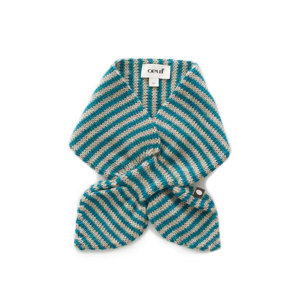Oeuf Kids accessories Neckies-Grey/Teal - Ever Simplicity