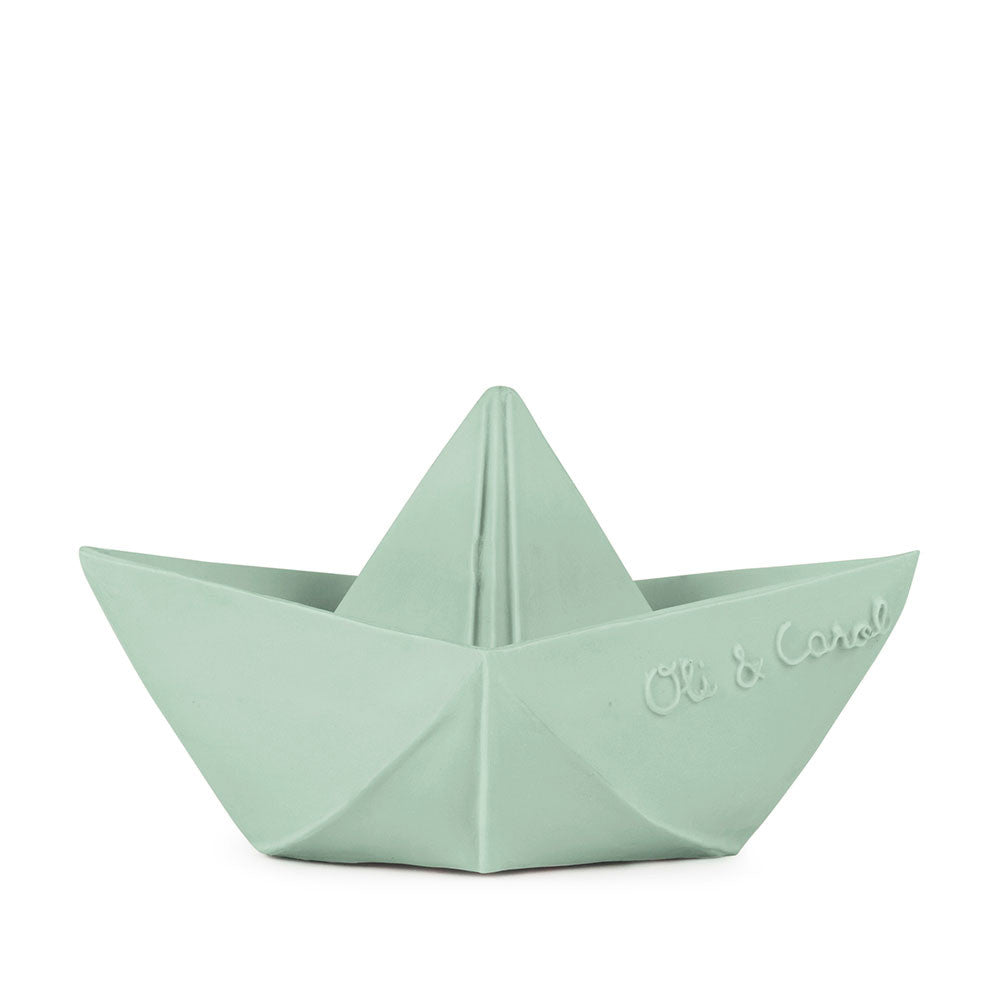 Origami Boat-Mint