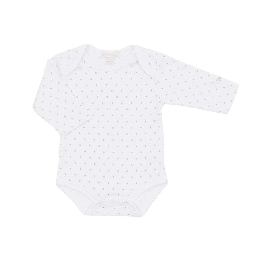 Livly Kids one-pieces Saturday Body-White - Ever Simplicity