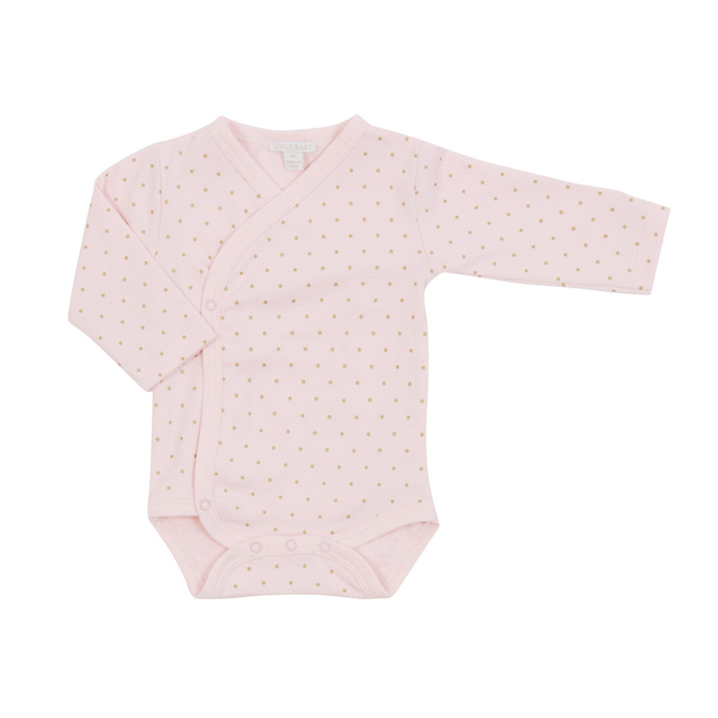 Livly Kids one-pieces Saturday crossed romper-Pink - Ever Simplicity