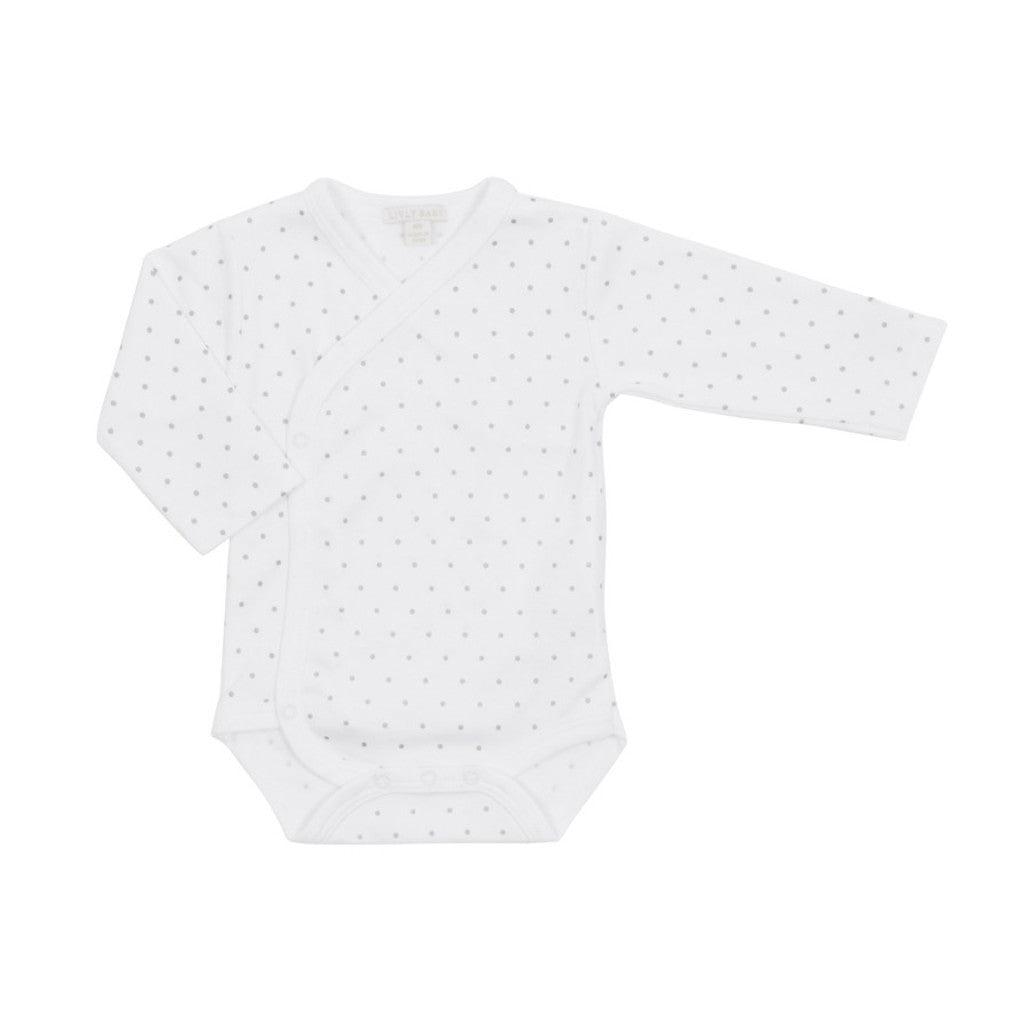 Livly Kids one-pieces Saturday Crossed Body-White - Ever Simplicity