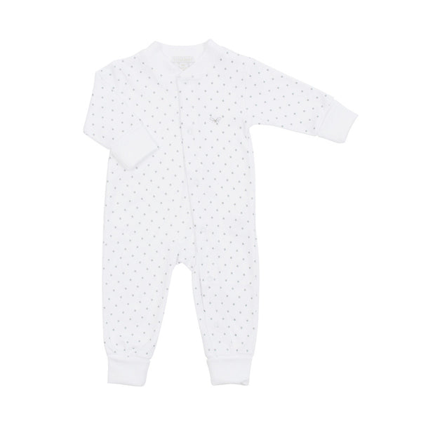 Livly Kids one-pieces Saturday Overall-White - Ever Simplicity