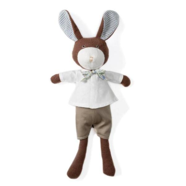 Hazel Village Kids toy Lucas Rabbit in Liberty Bow Tie Outfit - Ever Simplicity