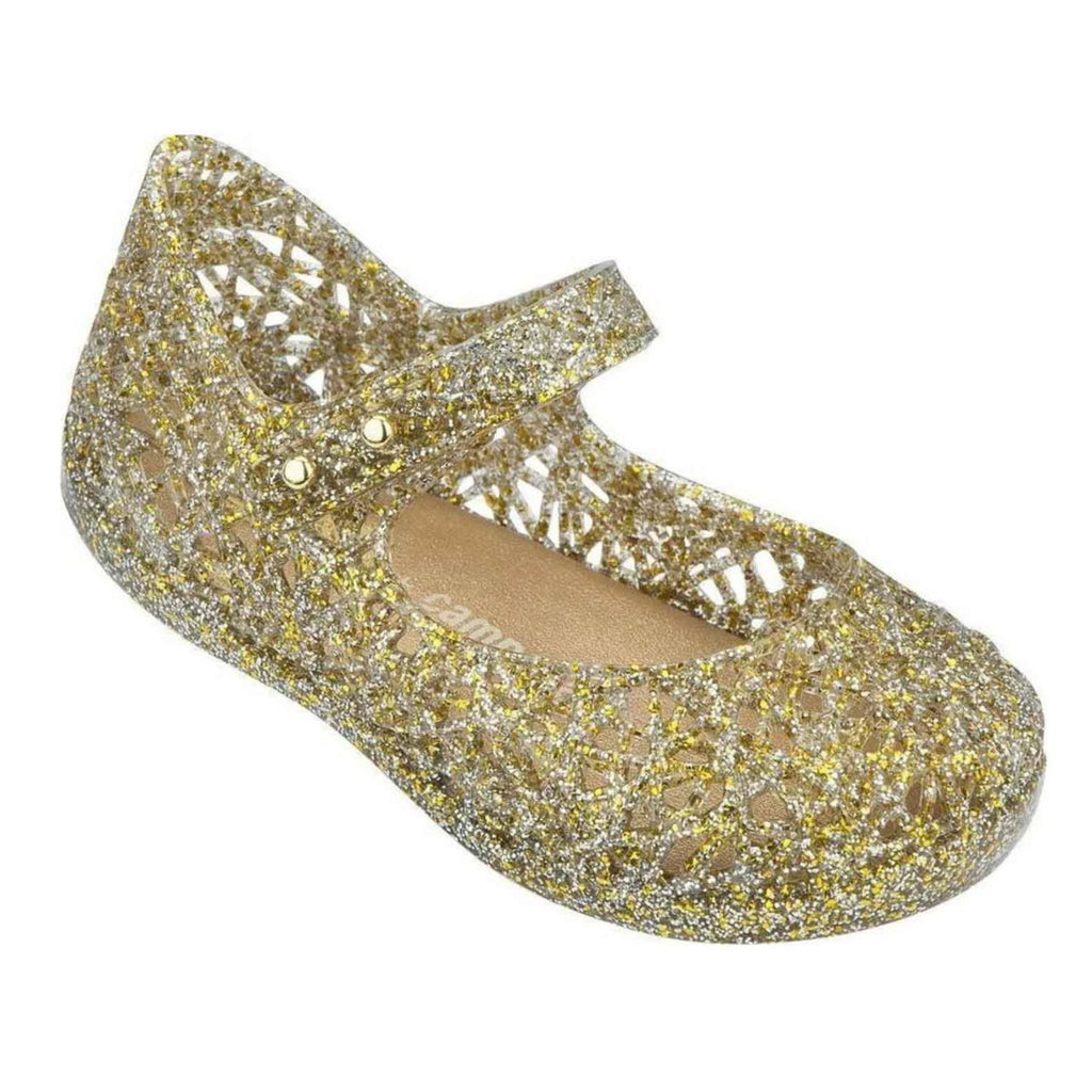 Mini Melissa Kids accessories Campana Zig Zag-Mix Golden Glitter - Ever Simplicity