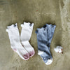 mini dressing Kids accessories Bunny Knee Socks - Cream - Ever Simplicity
