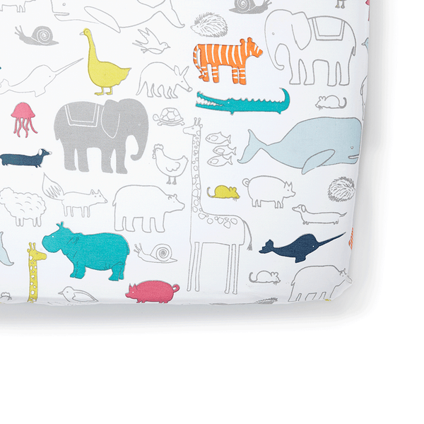 Petit Pehr Kids accessories Noah's Ark Crib Sheet - Ever Simplicity
