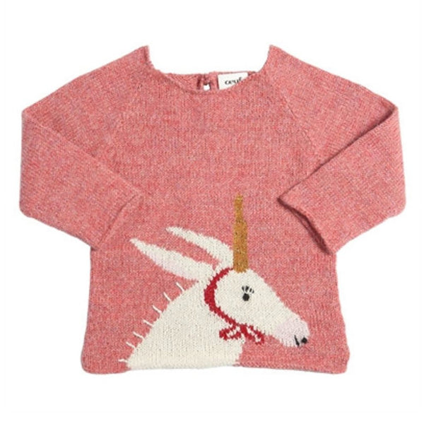 Oeuf Kids tops Unicorn Sweater - Ever Simplicity