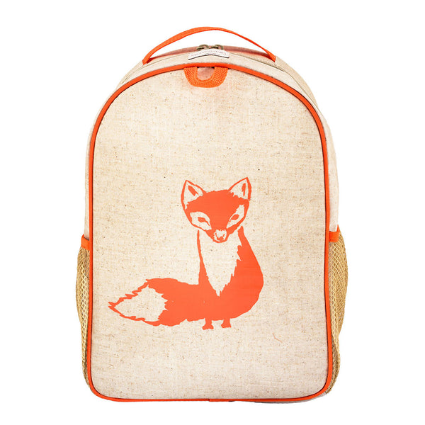 Orange Fox Toddler Backpack