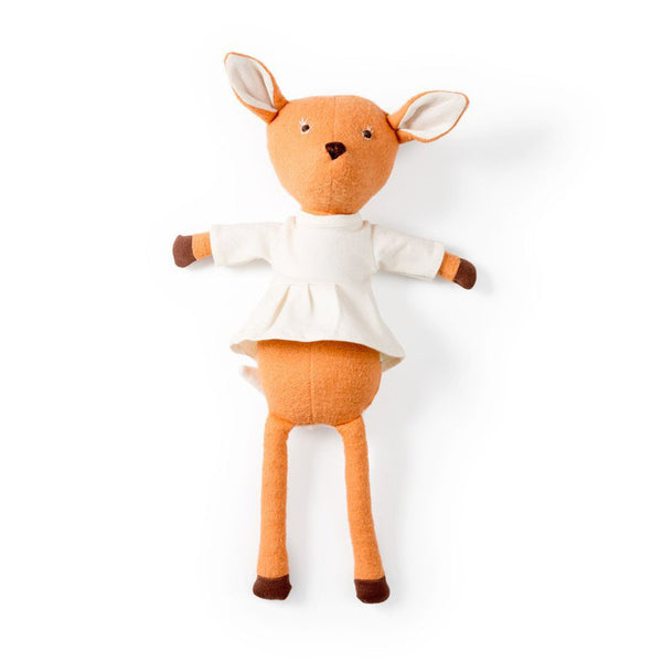 Hazel Village Kids toy Phoebe Fawn in Organic Tunic - Ever Simplicity