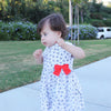 Petit Bateau Kids dresses Floral Bow Dress - Ever Simplicity