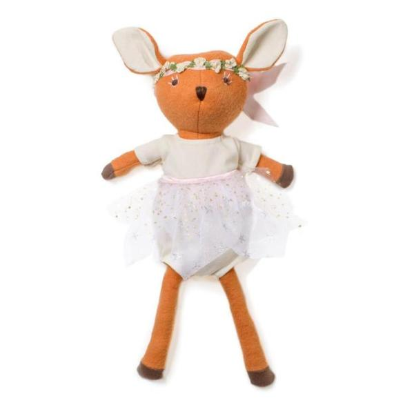 Phoebe Fawn in Sparkle Tutu Outfit