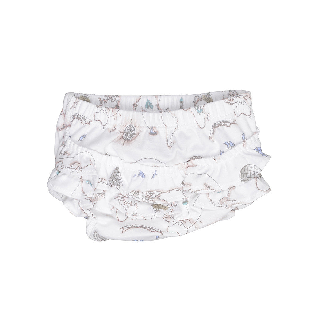Livly Kids Bottoms World Map Bloomers - Ever Simplicity