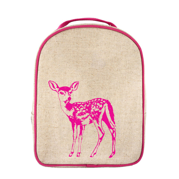 Pink Fawn Toddler Lunch Box