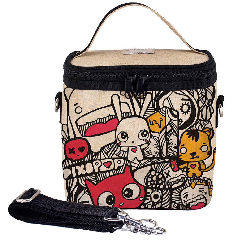 PIXOPOP PISHI AND FRIENDS Large COOLER BAG