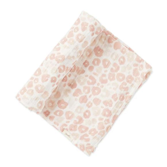 Petit Pehr Kids accessories Poppy Blush Swaddle - Ever Simplicity