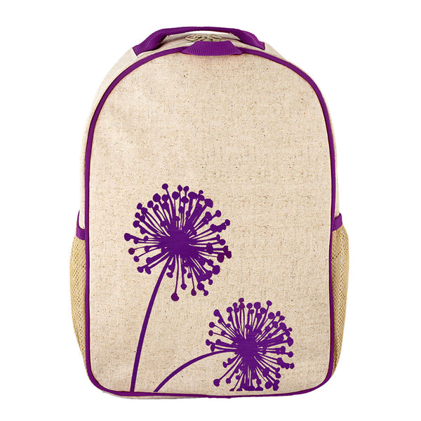 Purple Dandelion Toddler Backpack