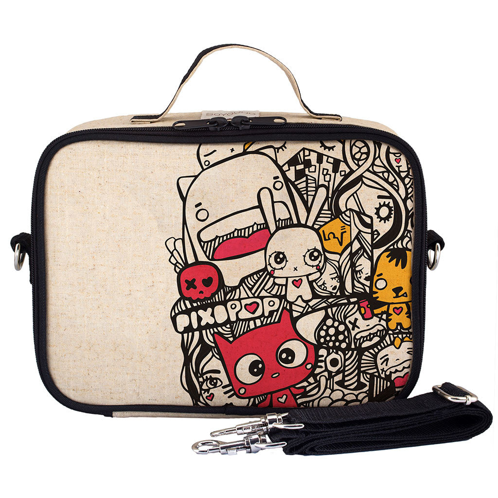 PIXOPOP PISHI AND FRIENDS LUNCH BOX