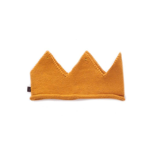 Oeuf Kids accessories Cotton Crown-Ochre - Ever Simplicity