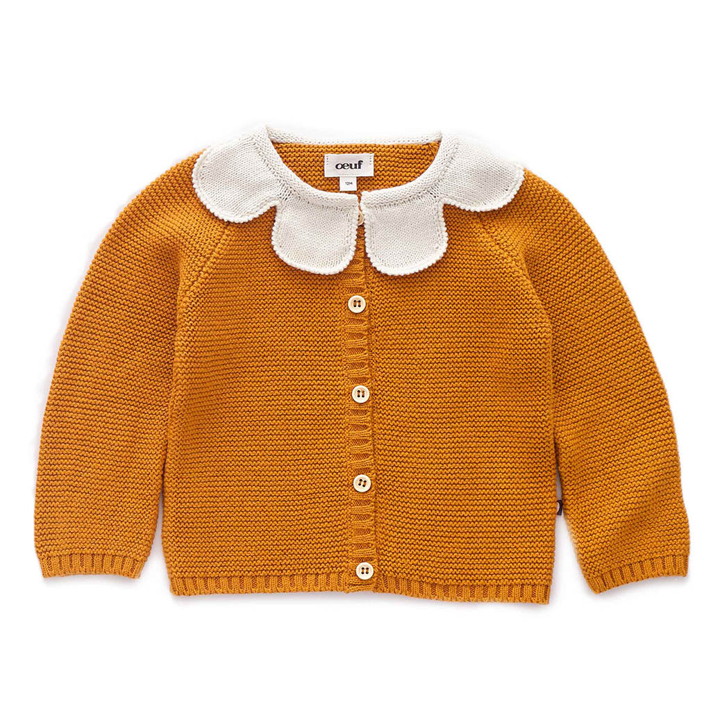 Oeuf Kids cardigans Daisy Cardigan - Ever Simplicity
