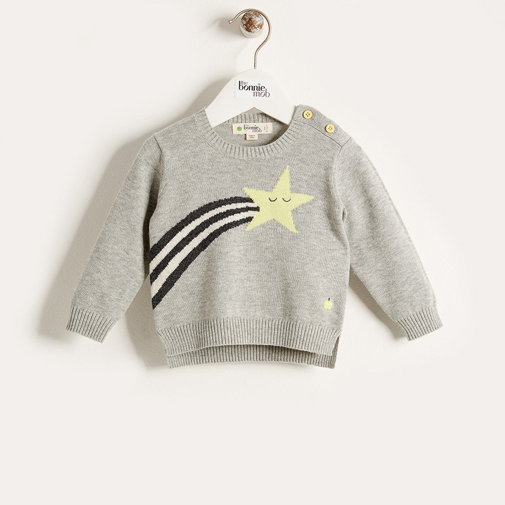 The Bonnie Mob Kids tops Shooting Star Sweater - Ever Simplicity