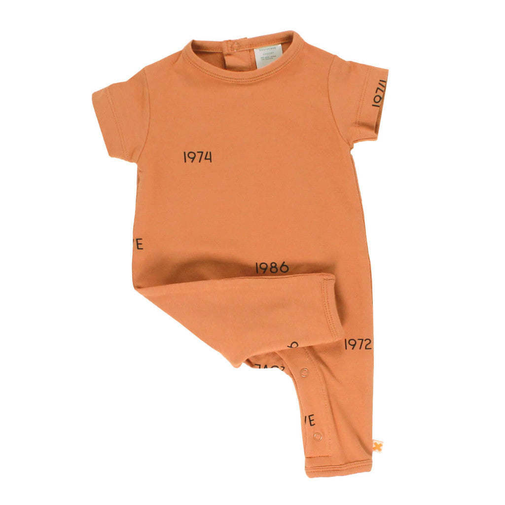 tinycottons Kids one-pieces Years SS Long Onepiece - Ever Simplicity