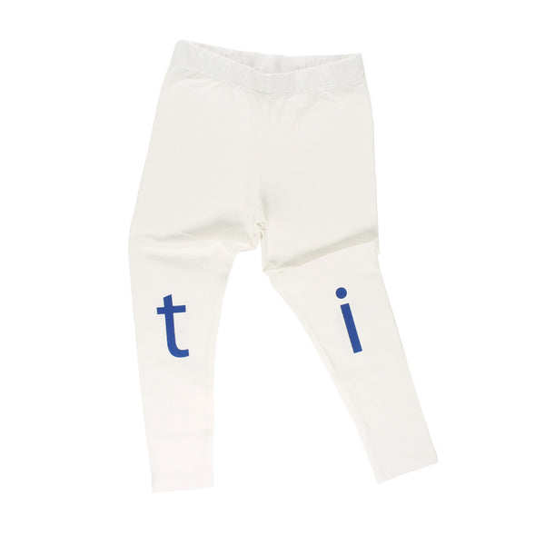 tinycottons Kids bottoms t-i-n-y pant-off white/blue - Ever Simplicity