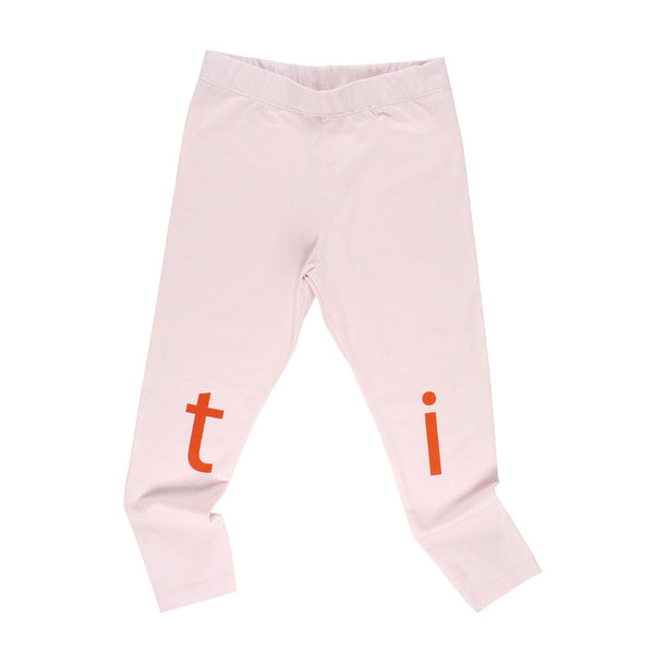 tinycottons Kids bottoms t-i-n-y pant-pale pink/red - Ever Simplicity