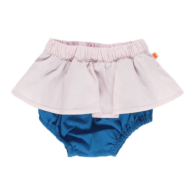 tinycottons Kids bottoms color block bloomer-pale pink/blue - Ever Simplicity