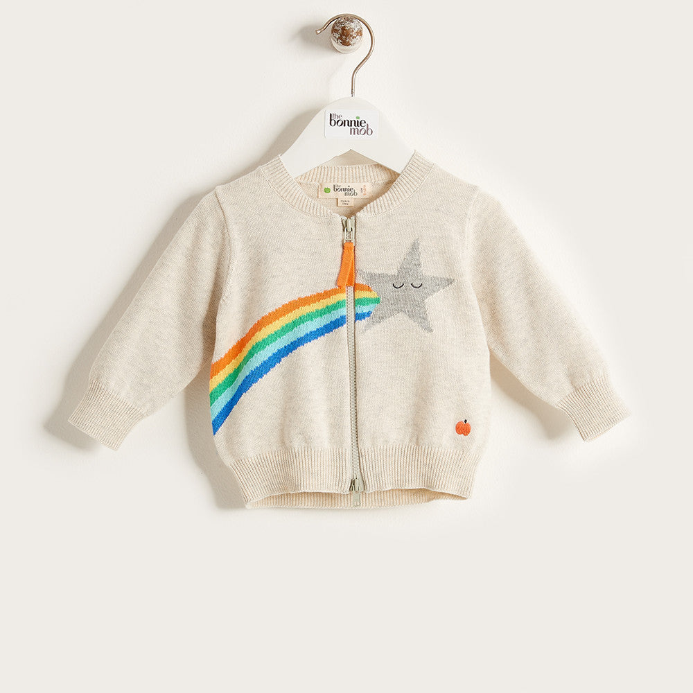 The Bonnie Mob Shooting Star Rainbow Cardigan - Ever Simplicity - 1