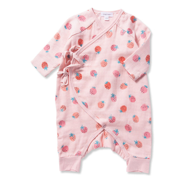 Strawberries Wrap Coverall