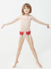 Oeuf Kids one-pieces Tulip Pocket Shorts-Light Pink - Ever Simplicity