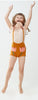 Oeuf Kids one-pieces Tulip Pocket Shorts-Ochre - Ever Simplicity