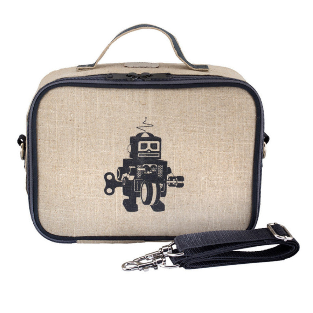 Soyoung Kids accessories Grey Robot Lunch Box - Ever Simplicity