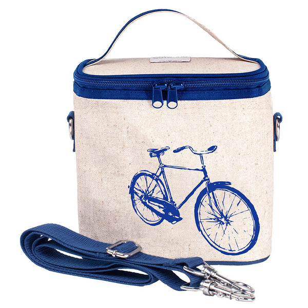 Blue Bicycle Large Cooler Bag