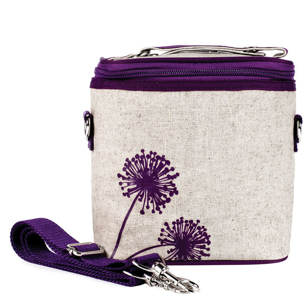 Purple Dandelions Large Cooler Bag