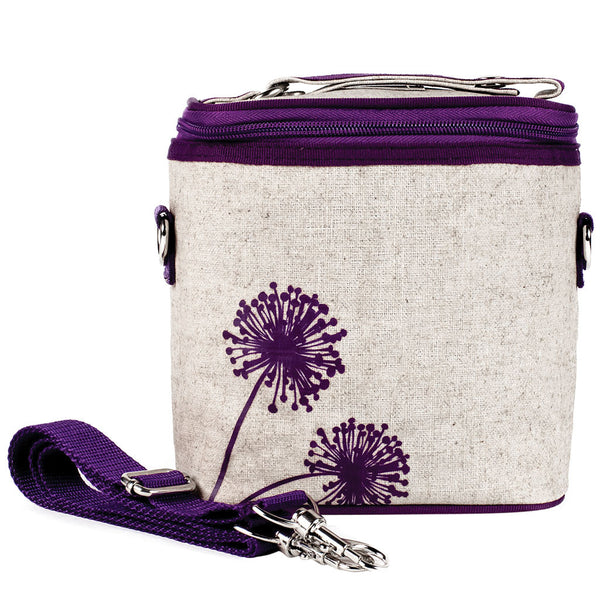 Purple Dandelion Small Cooler Bag