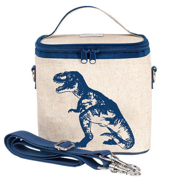 Blue Dinosaur Small Cooler Bag