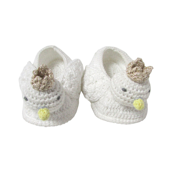 Albetta Kids accessories Crochet Swan Booties - Ever Simplicity