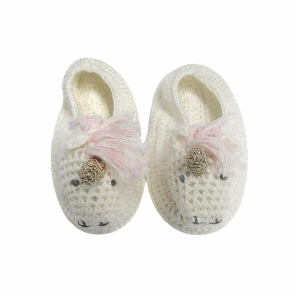 Albetta Kids accessories Crochet Unicorn Booties - Ever Simplicity
