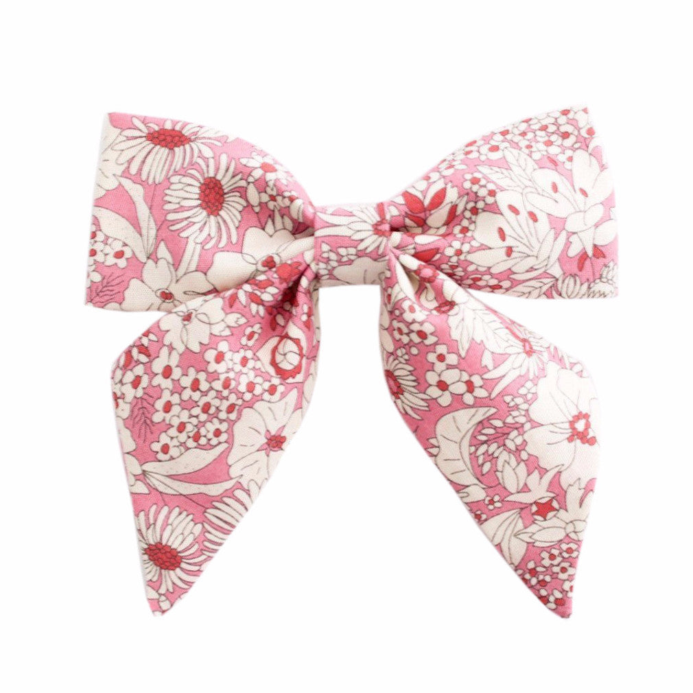 Ever Simplicity Baby accessories Pink Liberty Sailor Bow - Ever Simplicity