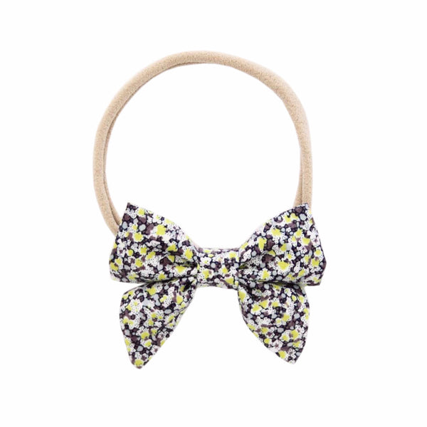 Yellow Scatter Mini Sailor Bow - Ever Simplicity
