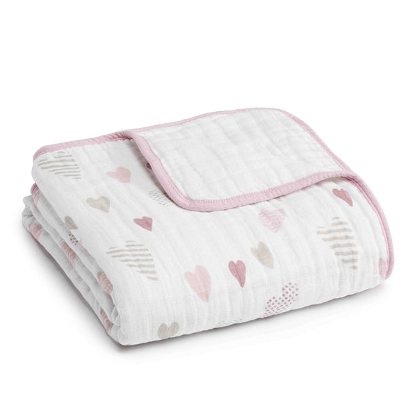 aden + anais Kids accessories Heart Breaker Classic Dream Blanket - Ever Simplicity
