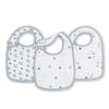 aden + anais Kids accessories Twinkle Classic Snap Bib 3 Pack - Ever Simplicity