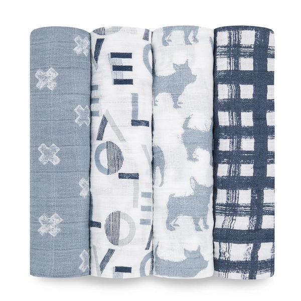 Waverly Classic Swaddle Set 4 Pack