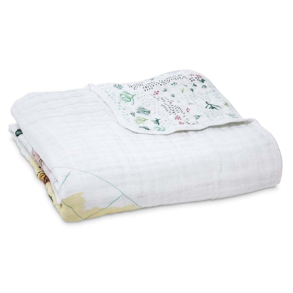 aden + anais Kids accessories Around the World Classic Dream Blanket - Ever Simplicity