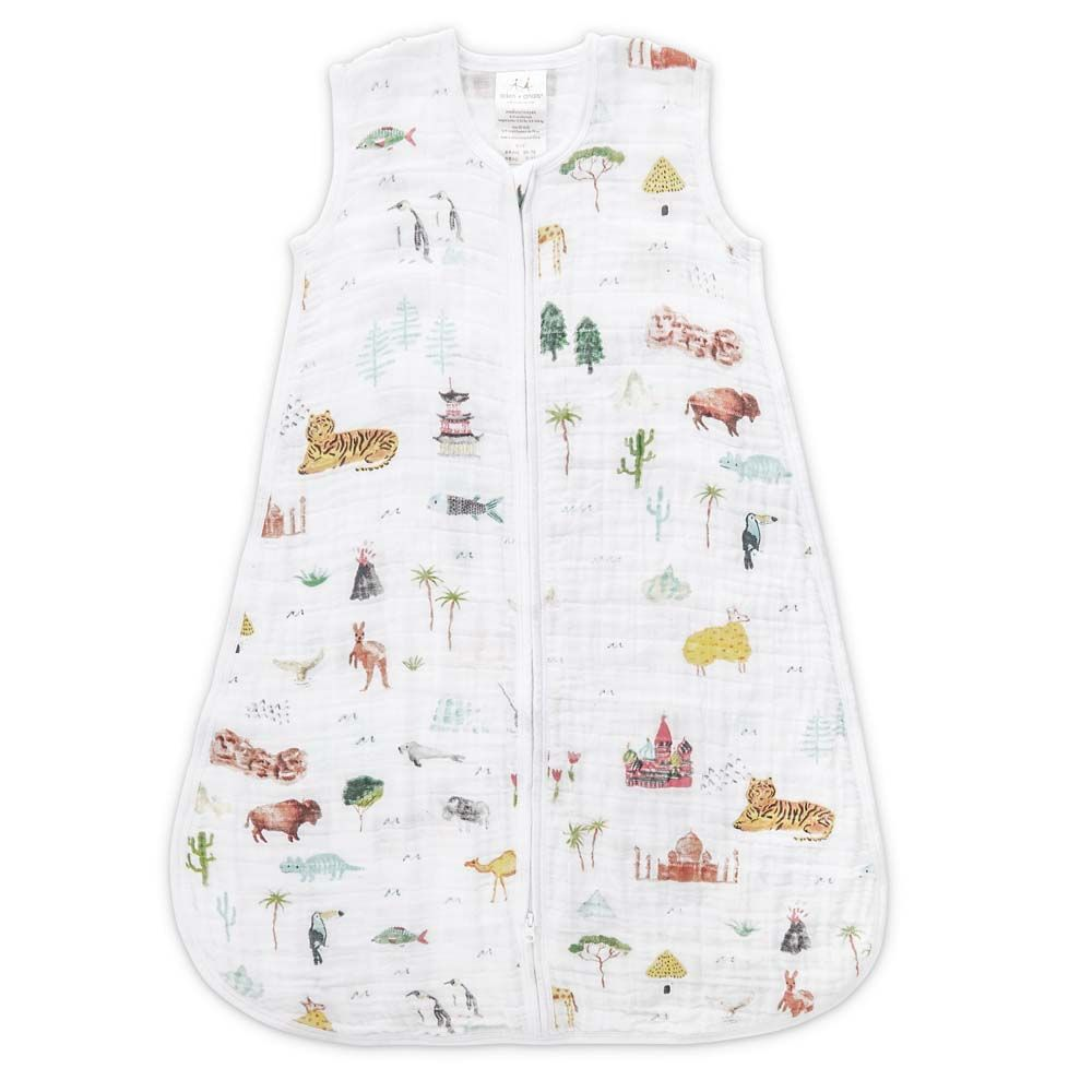 aden + anais Kids accessories Around the World Sleeping Bag - Ever Simplicity